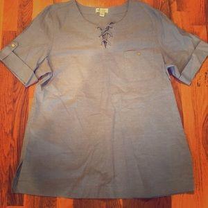 Light Blue Cute Shirt